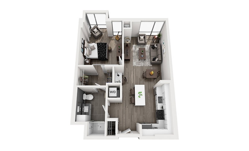 Apartments At Ink Block Boston,Home Decor 3d Butterfly Wall Stickers